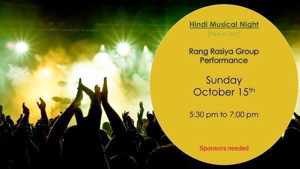 Hindi Musical Night
