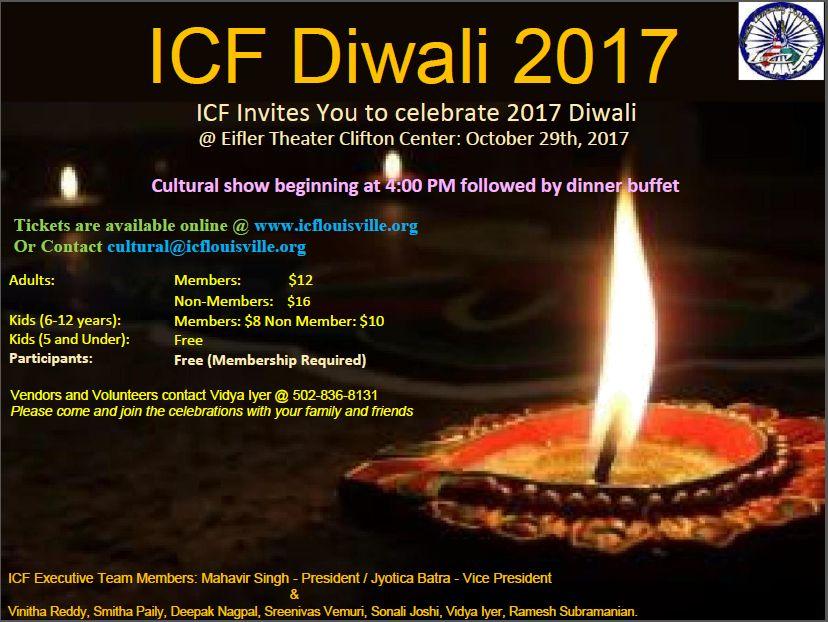 ICF Diwali 2017