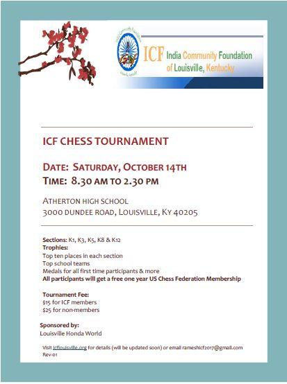 ICF CHESS TOURNAMENT